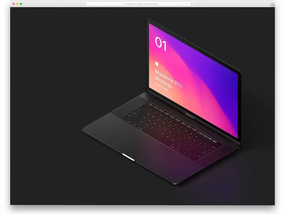 20 macbook mockups to