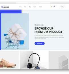 27 best free responsive ecommerce website templates 2019 [ 1200 x 946 Pixel ]