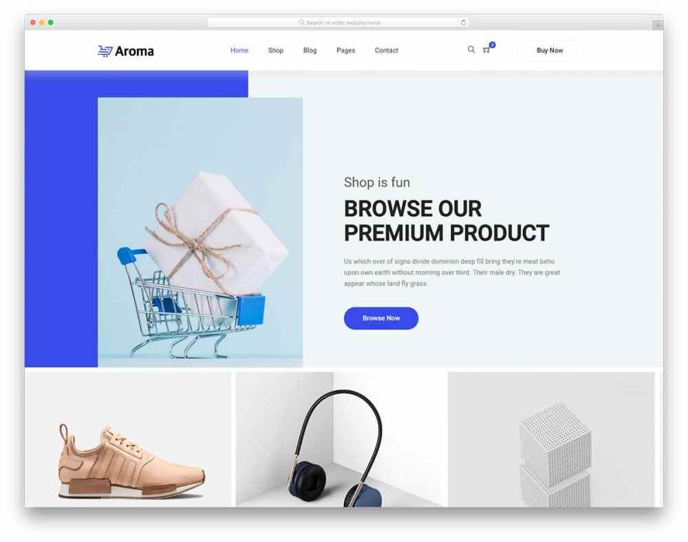 medium resolution of 27 best free responsive ecommerce website templates 2019