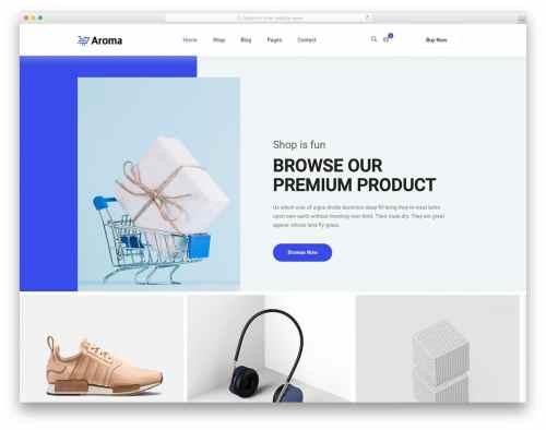 small resolution of 27 best free responsive ecommerce website templates 2019