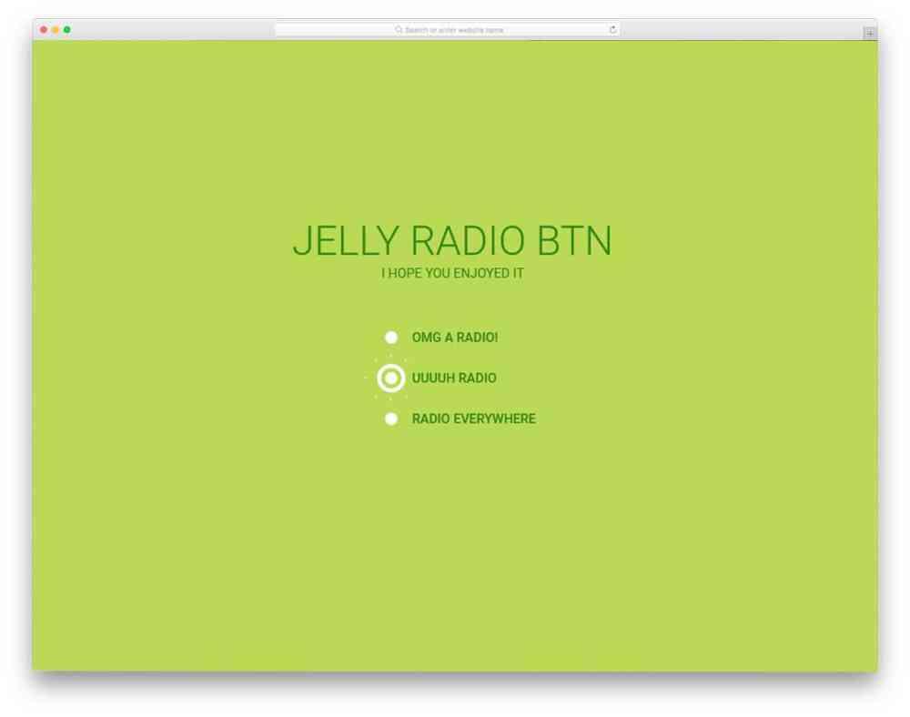 medium resolution of jelly radio button