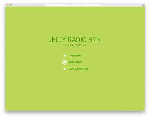 small resolution of jelly radio button
