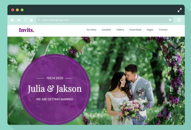 28 Free Html Wedding Website Template