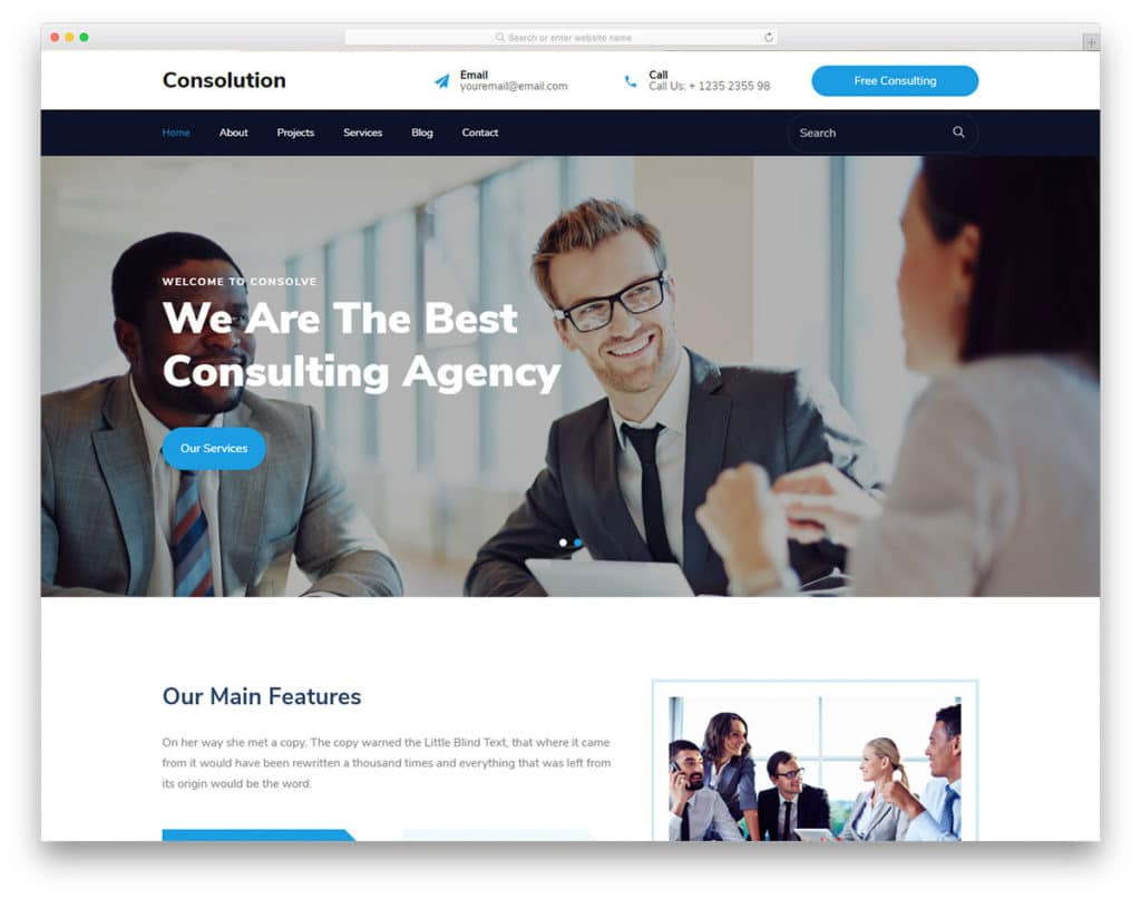Are you in the market for a new financial planner? 46 Free Finance Website Templates That Can Improve Your Credibility
