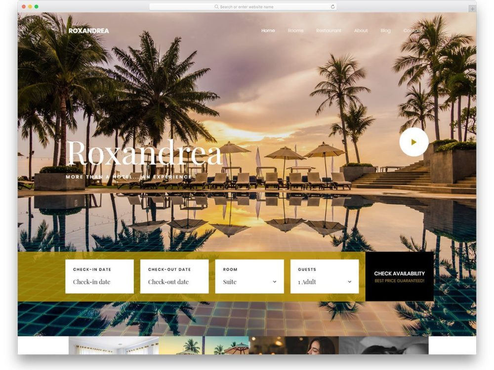 You can hardly go two feet without seeing a url for. 38 Best Free Hotel Website Templates Built For Modern Businesses 2021