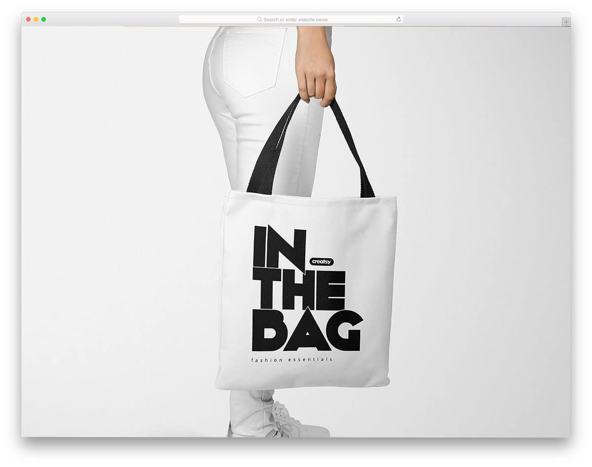 This ideal plastic bag mockup psd allows you to instantly see how your designs will look printed on a plastic bag. 45 Tote Bag Mockups For Designers And Small Store Owners Uicookies