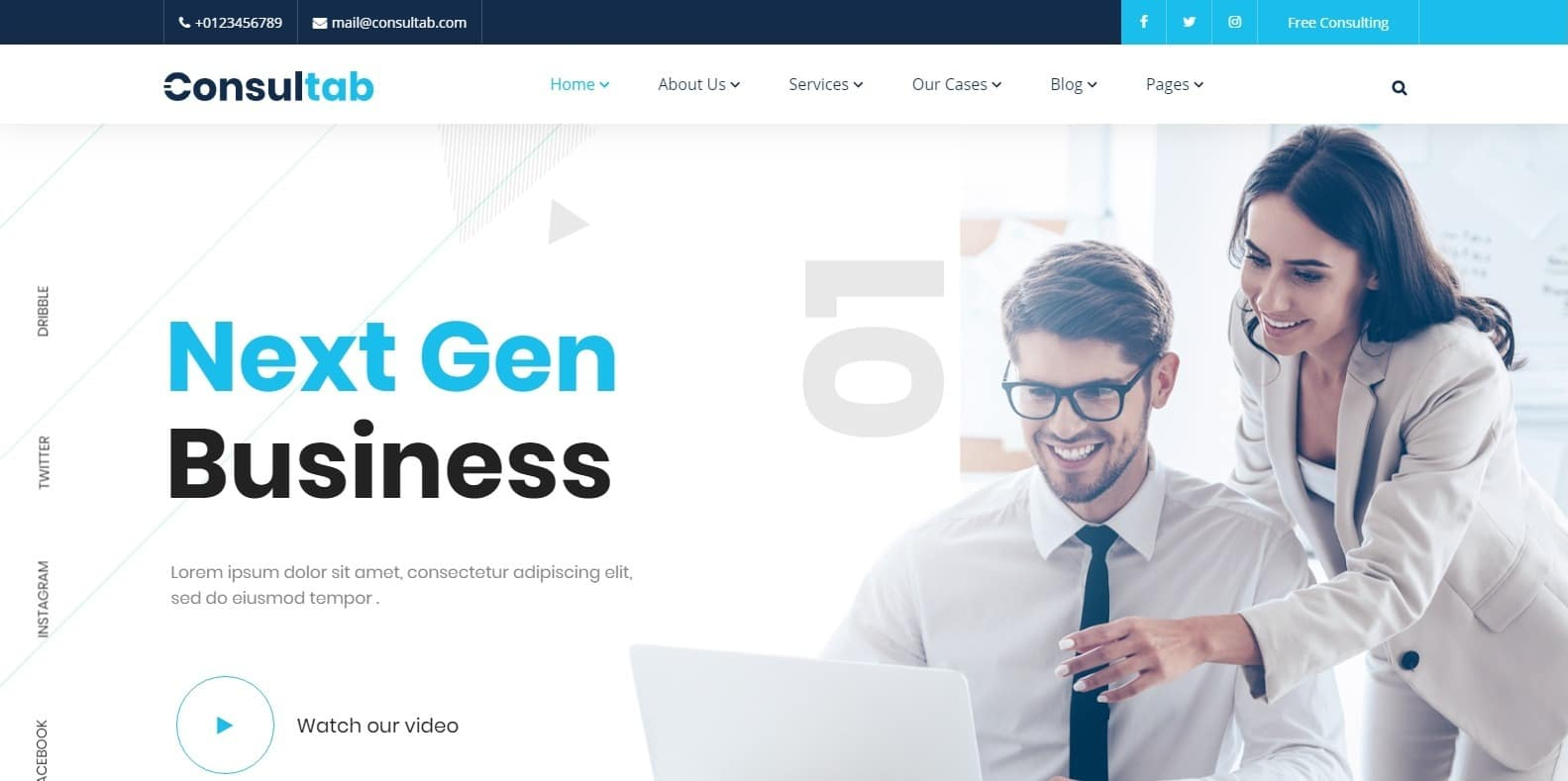 This is an html site. 18 Professional Human Resource Website Template For 2021