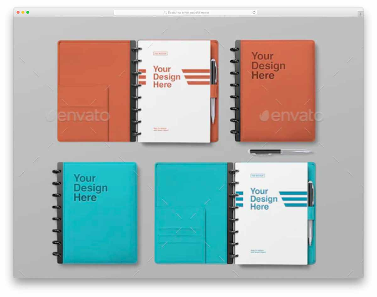 This mockup is all you need to get great results and impress your clients. 37 Highly Customizable Spiral Notebook Mockups 2021 Uicookies