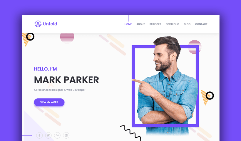 Complex view this free template ». 14 Best Free Personal Website Templates Of 2021 Uideck