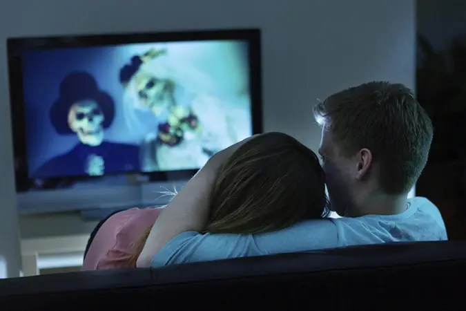 watching horror movies can lose weight