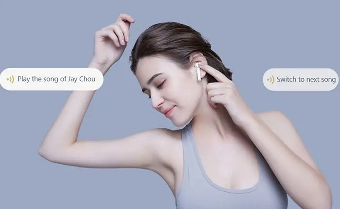 Mi AirDots Pro wake up the voice assistant