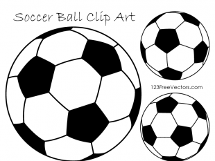Soccer Ball Clipart Black and White free vectors UI Download
