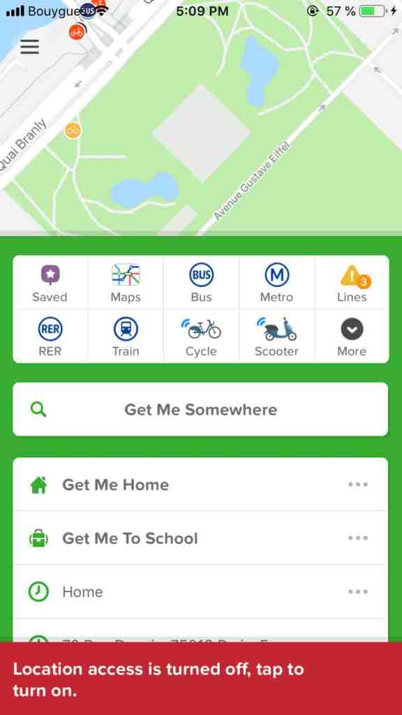 Error Message on iOS by Citymapper from UIGarage