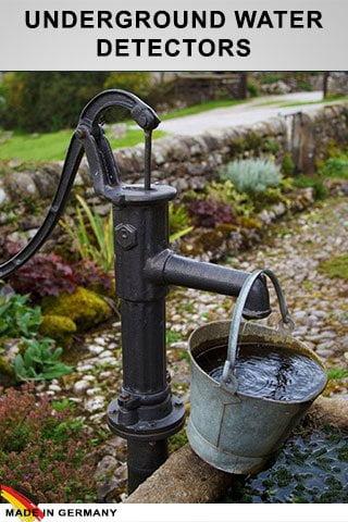 أجهزة كشف المياه الجوفية والآبار الارتوازية
