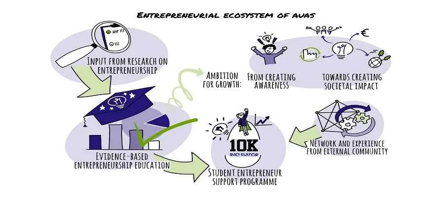 An Interpretation Of The Entrepreneurial Ecosystem Of The Amsterdam University Of Applied Sciences Uiin