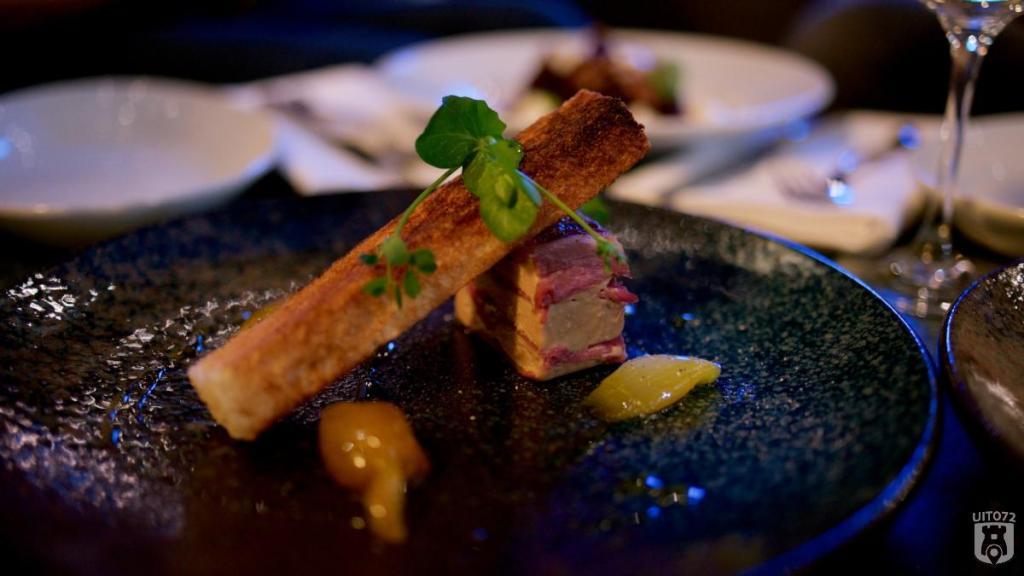 Hofman Alkmaar halfom foie gras pekelvlees