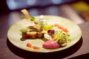 Groenteterrine bij Restaurant Fabers, Alkmaar