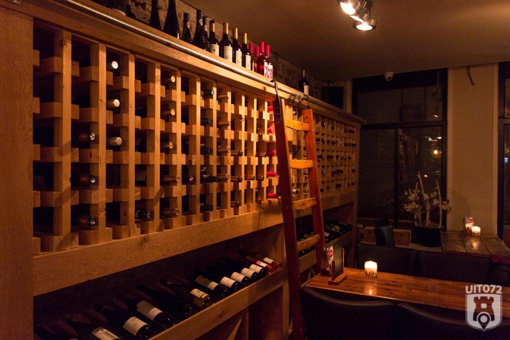 collectie van 40 wijnen