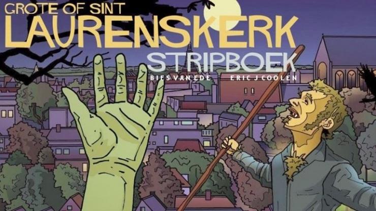 Stripboek: Grote of Sint Laurenskerk