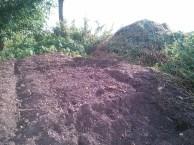 De compost is weer herkenbaar