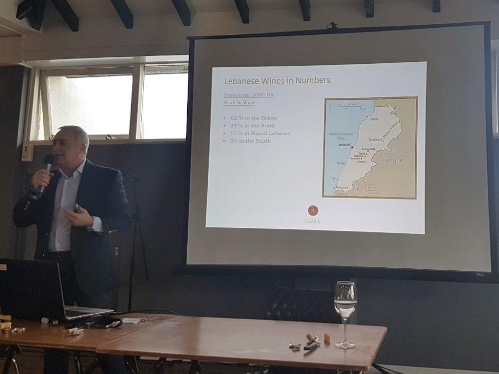 Elie Maamari vertelt over wijnbouw in Libanon