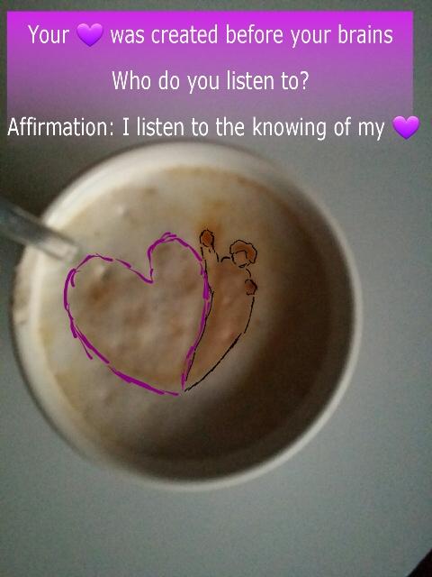 #Coffeetalk Luister naar je hart uitjebewust