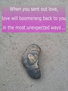#Naturetalk boomerang hart uitjebewust