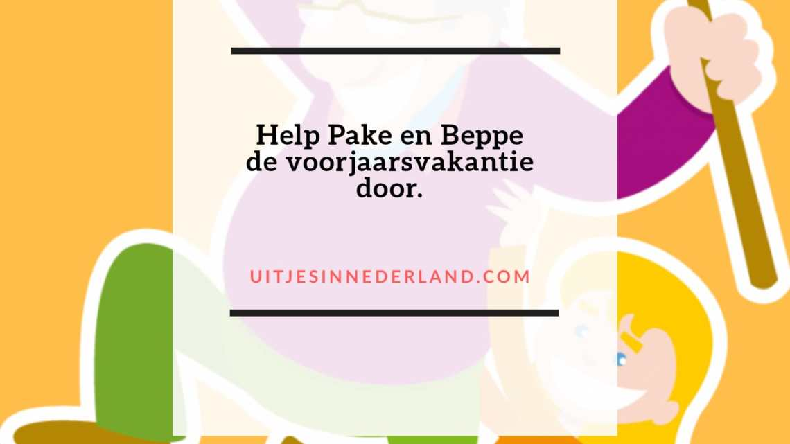 Help Pake, Beppe de voorjaarsvakantie door.