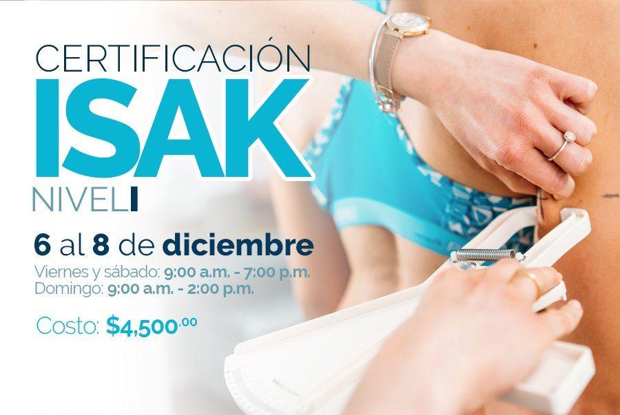 Certificación ISAK nivel I