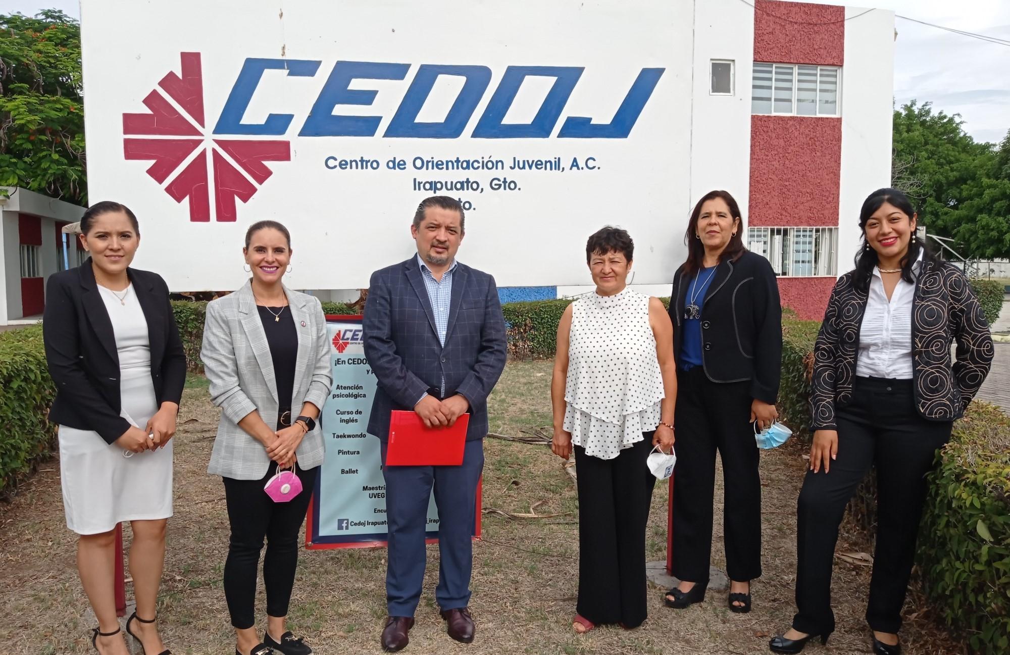 UIW BJX Y CEDOJ, firman alianza en pro de la comunidad