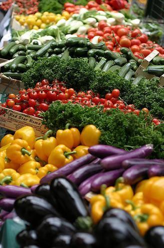 Fresh, Seasonable Vegetables