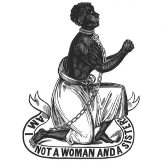 """""""Am I not a woman and a sister?"""" antislavery medallion from the late 18th century"""