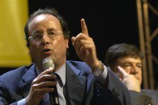 F. Hollande / G. Alirol, salle Japy, Paris, 27/4/2006