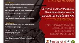 Ciclo de debates aborda o imperialismo e as lutas do século XXI