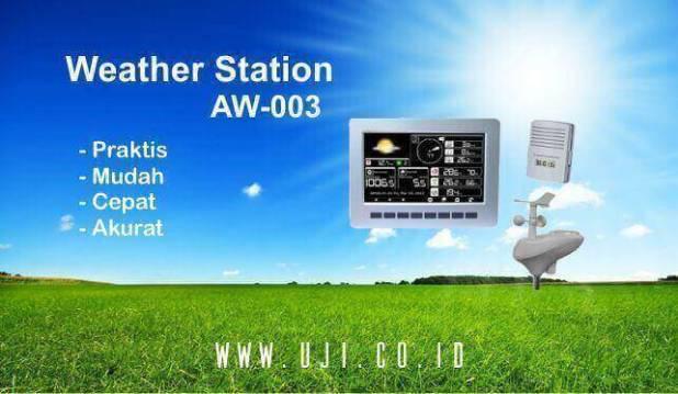 Alat Ukur Curah Hujan dan Cuaca AW003