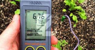 Pengukur pH Tanah Portabel HI99121