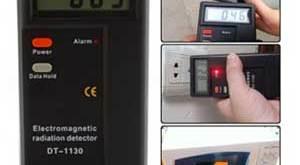 Alat Pendeteksi Radiasi Elektromagnetik Tester