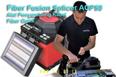 Jual Alat Penyambung Kabel Fiber Optik Fiber Fusion Splicer AOP50