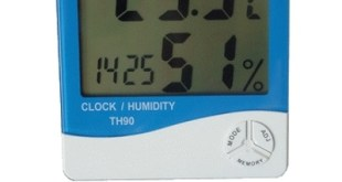 Thermometer Hygro and Clock