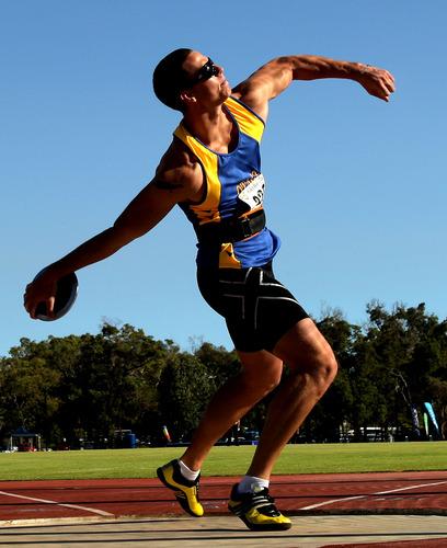 Cakram Olahraga : cakram, olahraga, Pengertian, Olahraga, Lempar, Cakram, Ujiansma.com
