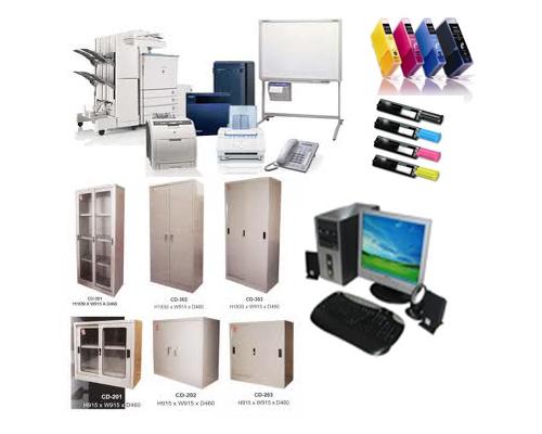 Permintaan peralatan dan perlengkapan kantor  ujiansmacom