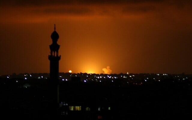 Válasz a békére: gázai terroristák hajnalban 13 rakétát lőttek ki Izraelre