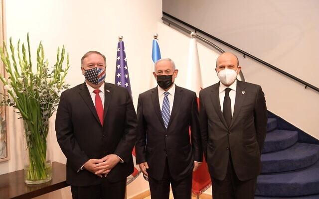 Pompeo Izraelben: Az Izraellel kötött normalizációs megállapodások még jobban elszigetelik Iránt