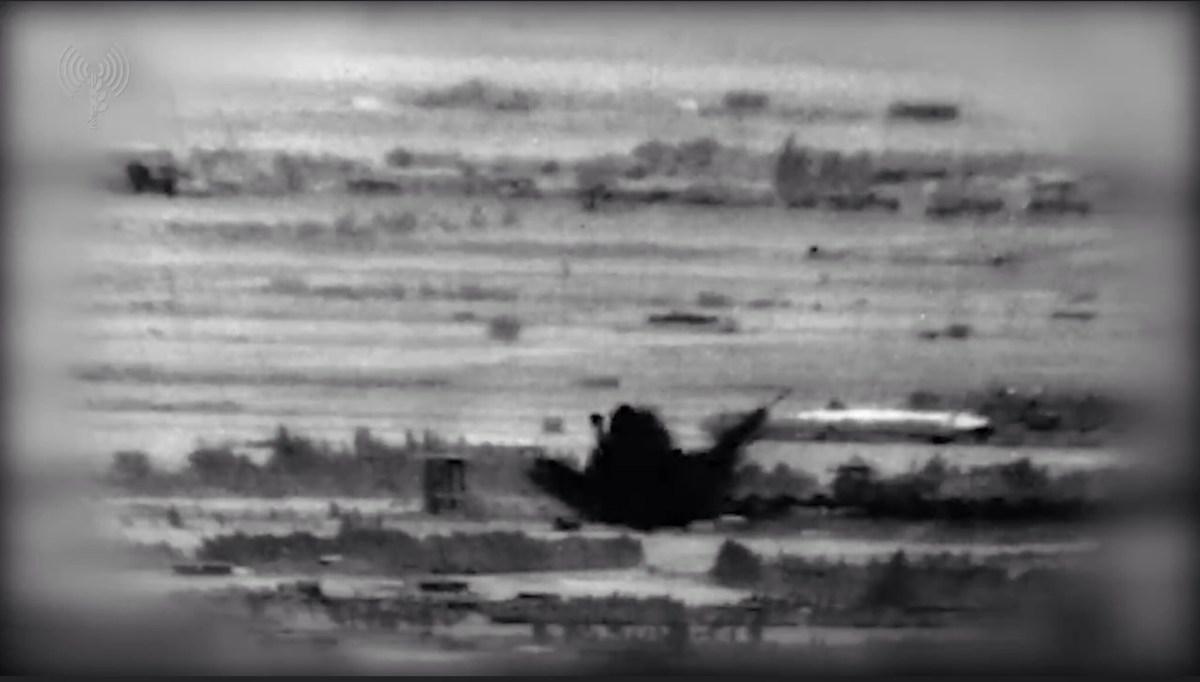 Az izraeli hadsereg videót és képeket tett közzé a Szíriában végrehajtott légicsapásairól