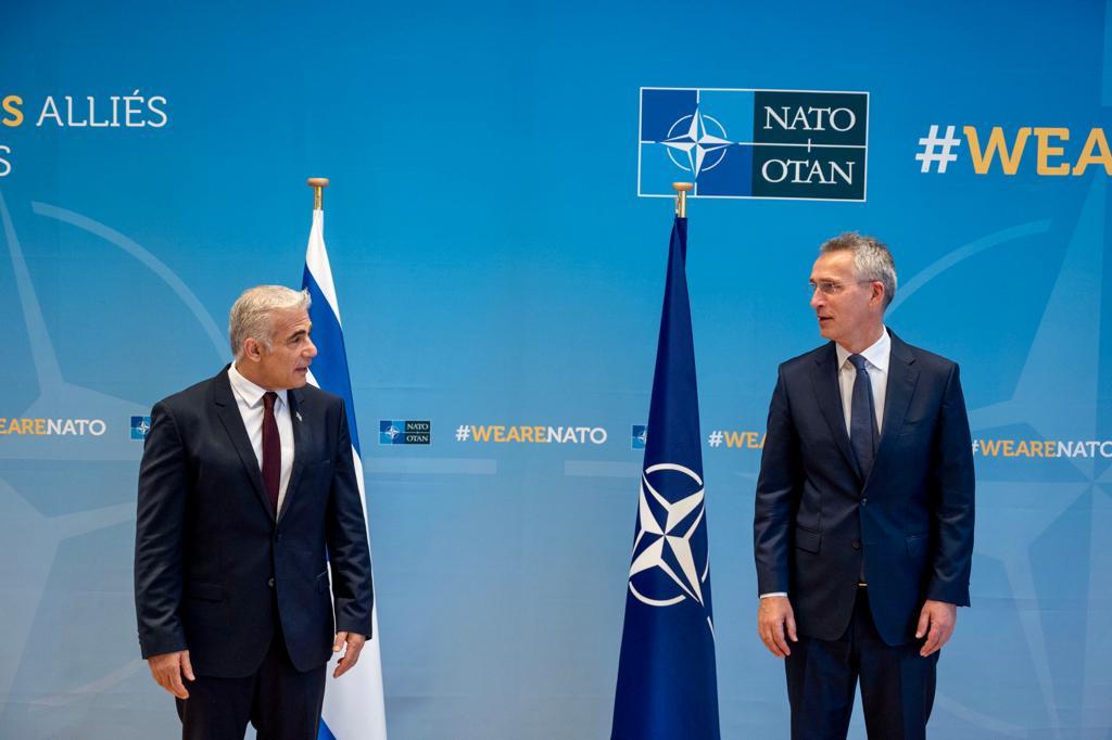 Lapid Brüsszelben: Támogatom a kétállami-megoldást, de a jelenlegi helyzetben ez megvalósíthatatlan | Új Kelet online