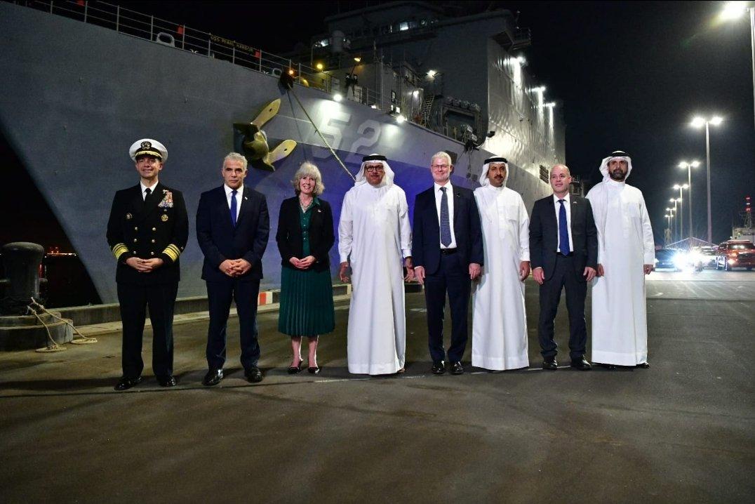 Riport: Lapid bahreini látogatása során megbeszélték az iráni drónveszély elleni közös fellépést | Új Kelet online