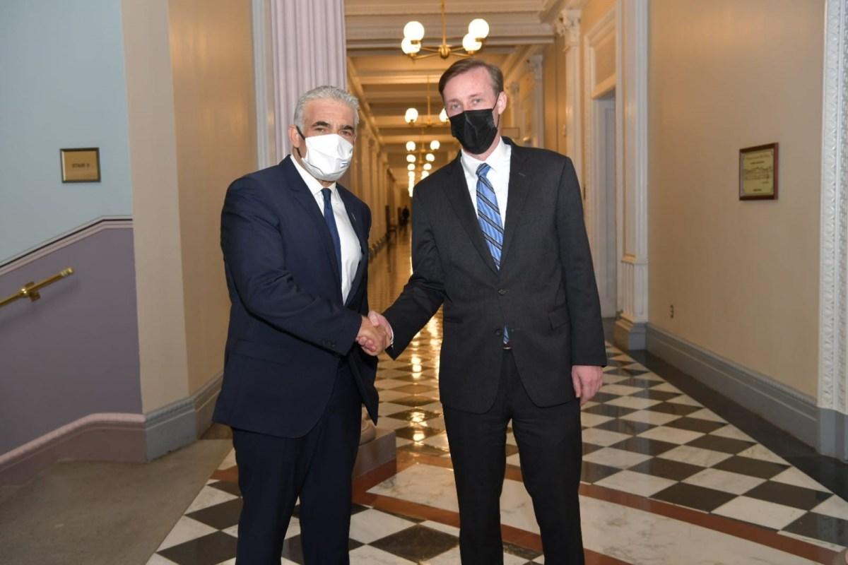 Lapid figyelmeztette Sullivant: Irán nukleáris küszöbállammá válik | Új Kelet online