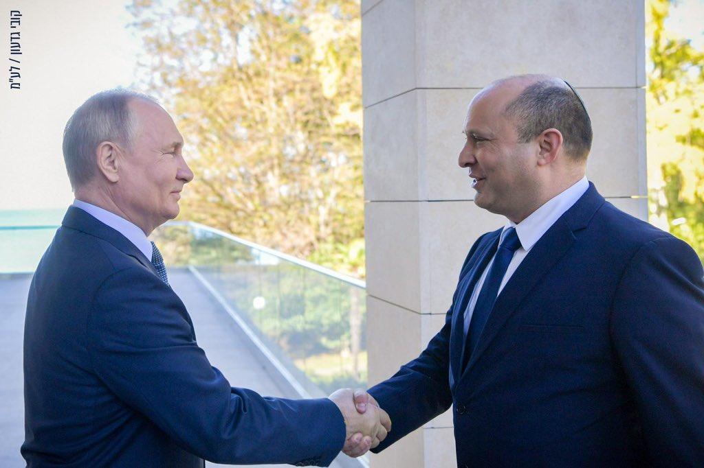 Bennett és Putyin a kétoldalú kereskedelemről, Szíriáról és Iránról tárgyalt az első hivatalos találkozón   Új Kelet online