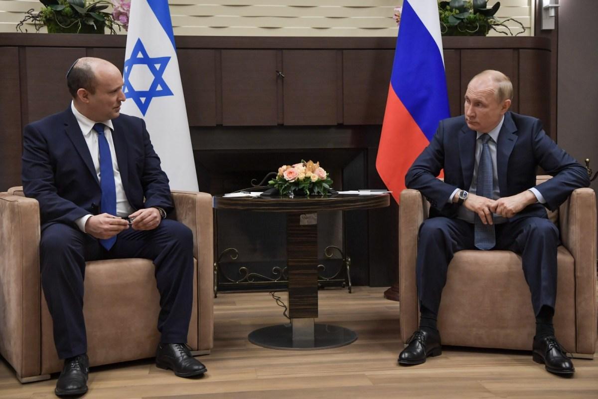 Bennett és Putyin megállapodtak, hogy érvényben marad a dekonflikciós mechanizmus Szíriában | Új Kelet online