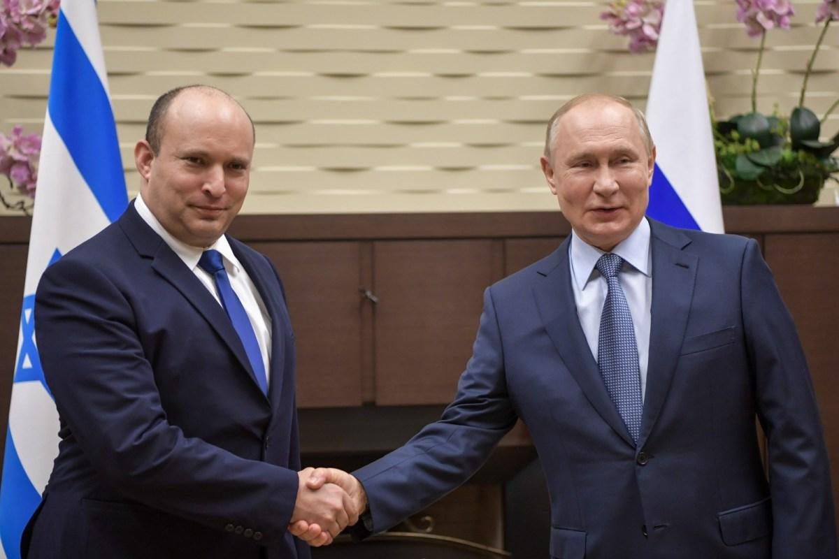 Bennett és Elkin sztorija Putyinnal | Új Kelet online